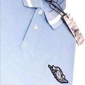 Brand New Dior x Jordan Wings Polo Blue Sh…